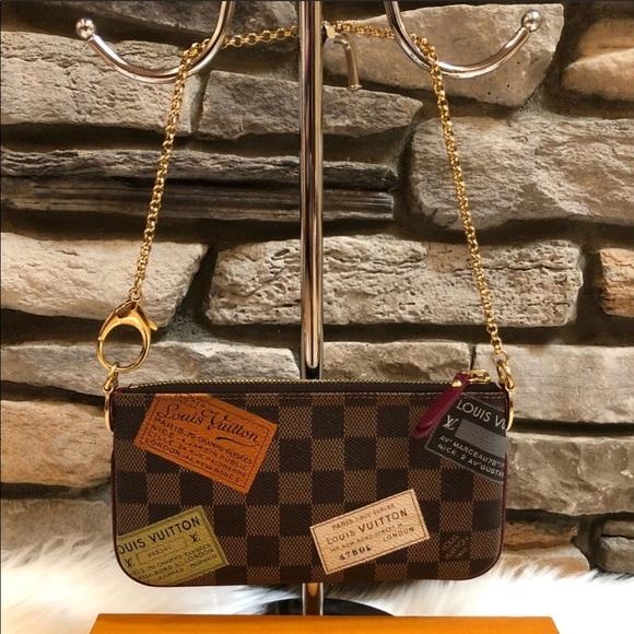 fbe6d461fc21 Louis Vuitton Handbags - Louis Vuitton Pochette Milla Clutch MM Limited Edi